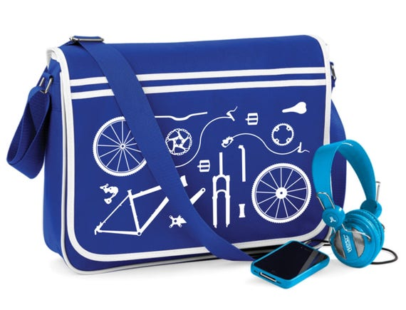 9df8045506f3 HT Bicycle Bike Parts Retro Bag Messenger Bag Cycling