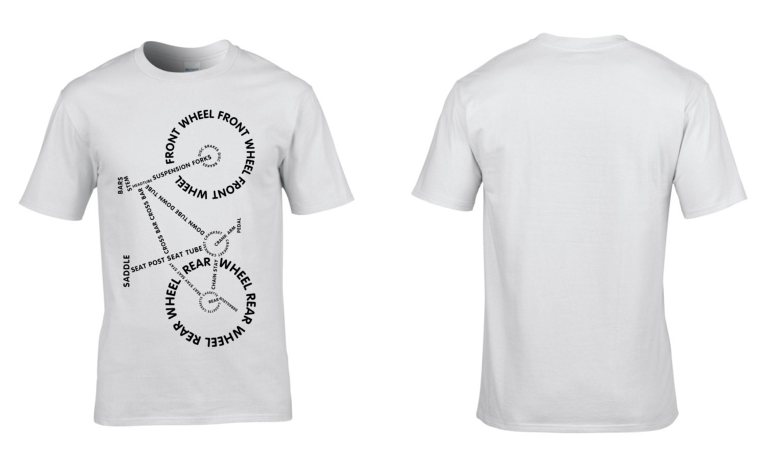 36c0e5e4 ... Bicycle, Parts, Lettering, Mens T-Shirt, Retro, Cycling, Cycling  Clothing Tour de France, Gifts, NEW. 1