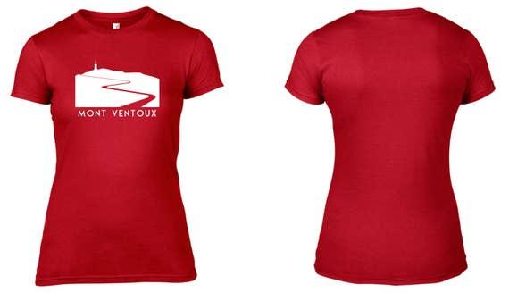 Womens Mont Ventoux Tour de France Womens Tshirt T-Shirt  8f3822b01