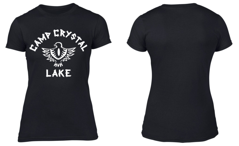 404c9f5dc0da Camp Crystal Lake   Women s   T-Shirt   Retro   Friday the