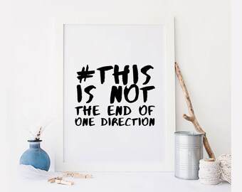 One direction song | Etsy