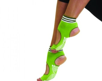 7d5b01fad TOETOE - Yoga Pilates - Anti-Slip Sole Open Toe Heel Toe Socks