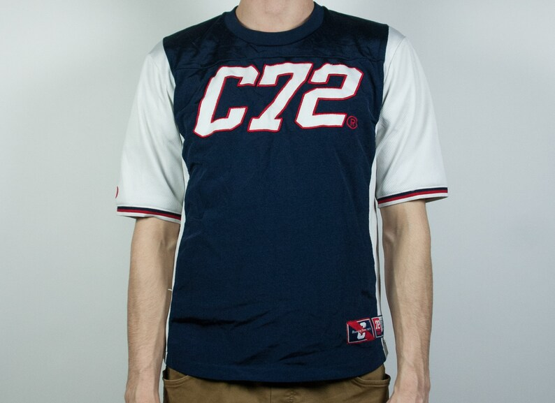924c13d6a9d21 Original Nine C72 T-shirt  Street wear athletic vintage shirt   90s  sportswear urban apparel classic look authentic shirts
