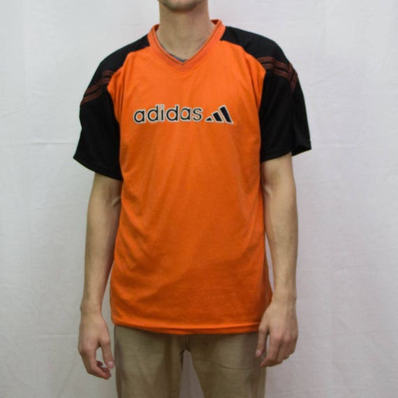 Original ADIDAS street wear athletic vintage black and orange  9d961e7dcd3e0