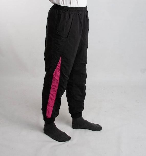 Vintage 90's Elastic Waist Pants | Retro Track Sui