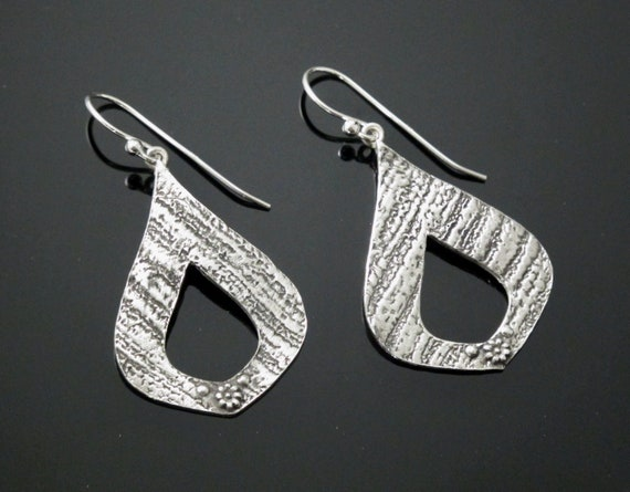 jewelery, Fine Silver Earrings