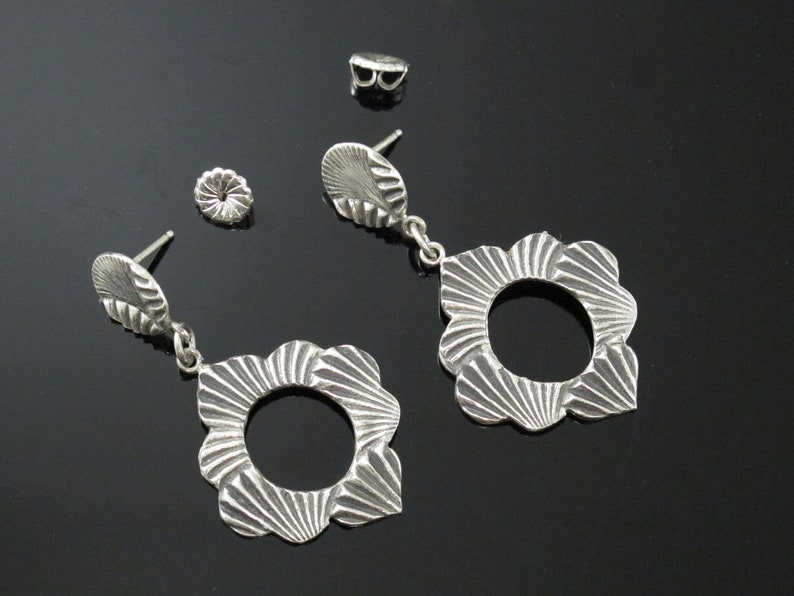 Earring Jewellery Handcrafted from Fine Silver .999