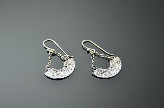 Silver Earrings, Handmade Jewelry