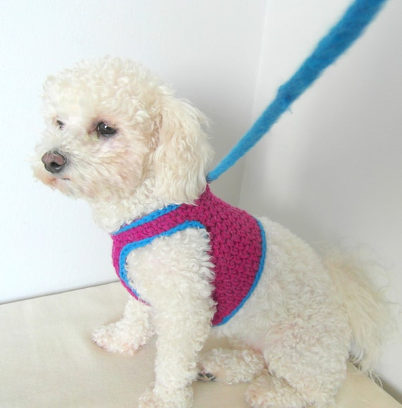 il_570xN.931591023_9ky7 crochet dog harness dog harness vest matching leash pets etsy