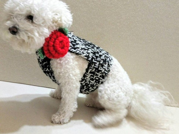 il_570xN.1535816263_m6uc crochet dog harness pets harness small dog harness with back etsy