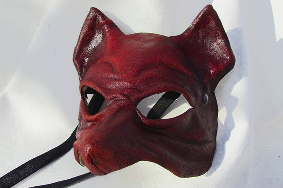 ant mask dark leather costume cosplay larp renaissance wicca pagan magic burning man fantasy
