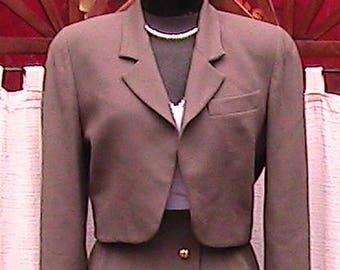 Size 8 Vintage Doncaster Skirt Suit