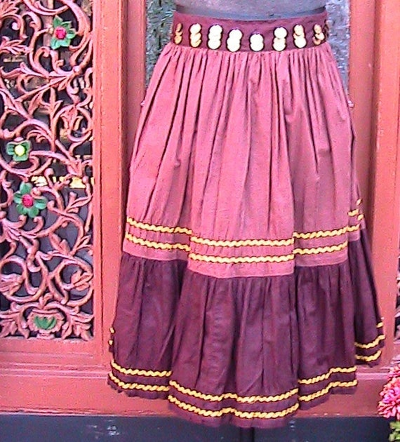 Size M/L Western Skirt WS048 - image 2