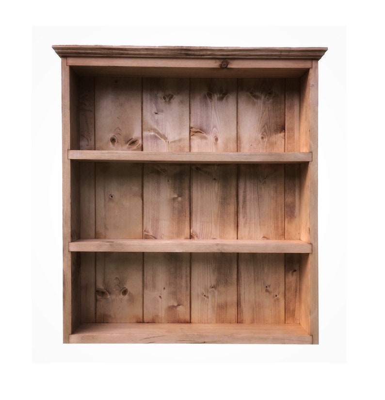 3 4 Etages En Bois Livre Etui Affichage Stockage Etagere Unite Teck Noyer Cube 2