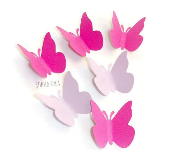 25 BUTTERFLY PAPER CUT OUTS//EMBELLISHMENTS