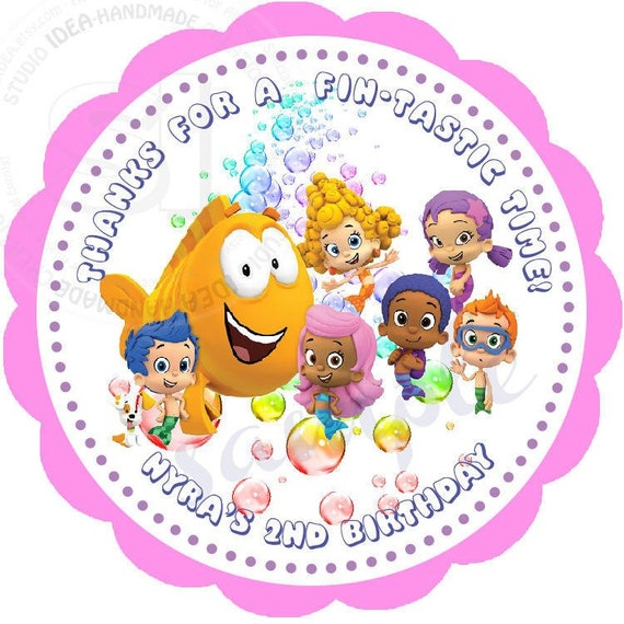 photograph regarding Bubble Guppies Printable called Tailor made Bubble Guppies Printable 2.5\