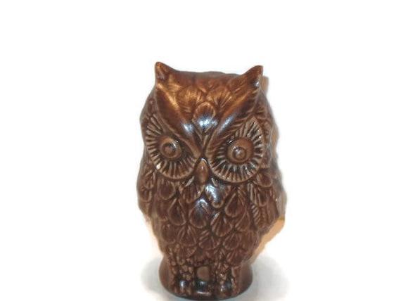 Vintage Owl Figurine Home Decor Collectible Vintage Owl