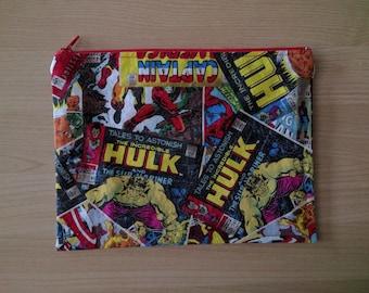Marvel Comics Pencil Pouch / Makeup Bag