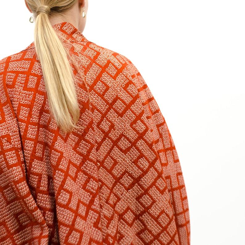 Shibori kimono Shibori haori
