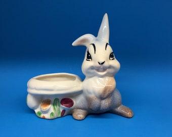 Vintage Thumper Planter by American Bisque, Thumper Figurine, Succulent Planter, Vintage Bambi