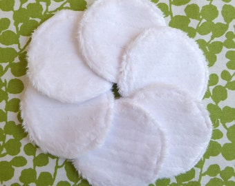 """Reusable Face Pads, Facial Rounds, 2-3/8"""", Eco Friendly, Skin Care, Makeup Remover Pads, College Student Gift, Gift for Mom, Zero Waste"""