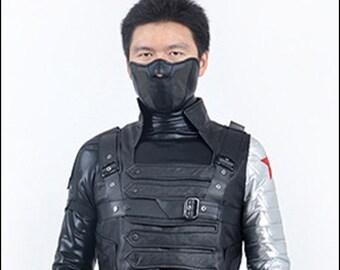 Captain America The Winter Soldier Bucky Barnes Custom Made Cosplay Costume
