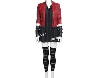 Scarlet Witch Costume Etsy