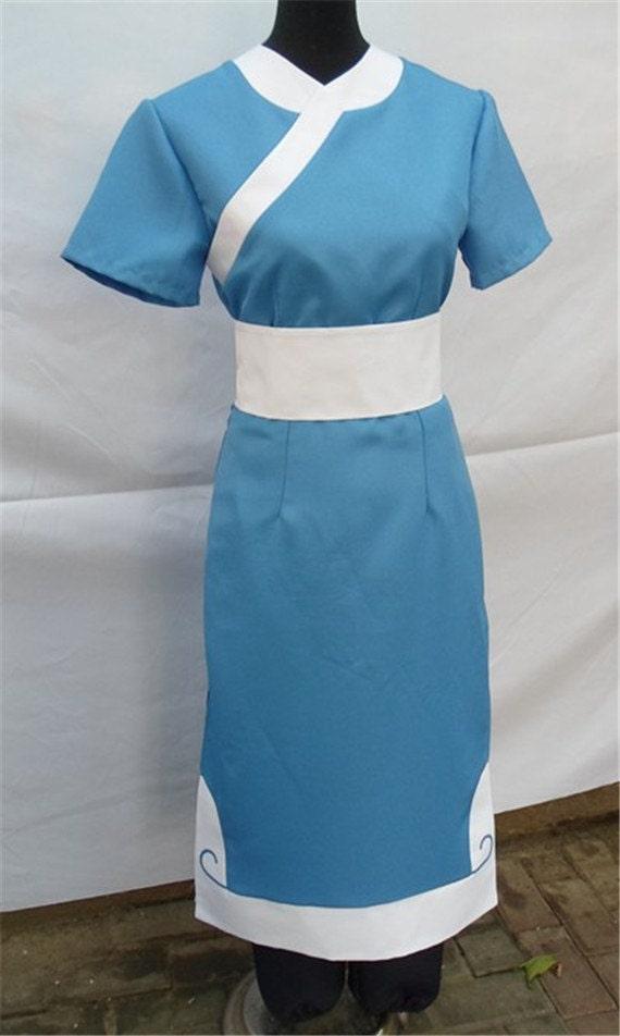 Complete Cosplay Katara Custom Made Costume Avatar fHzwq5z