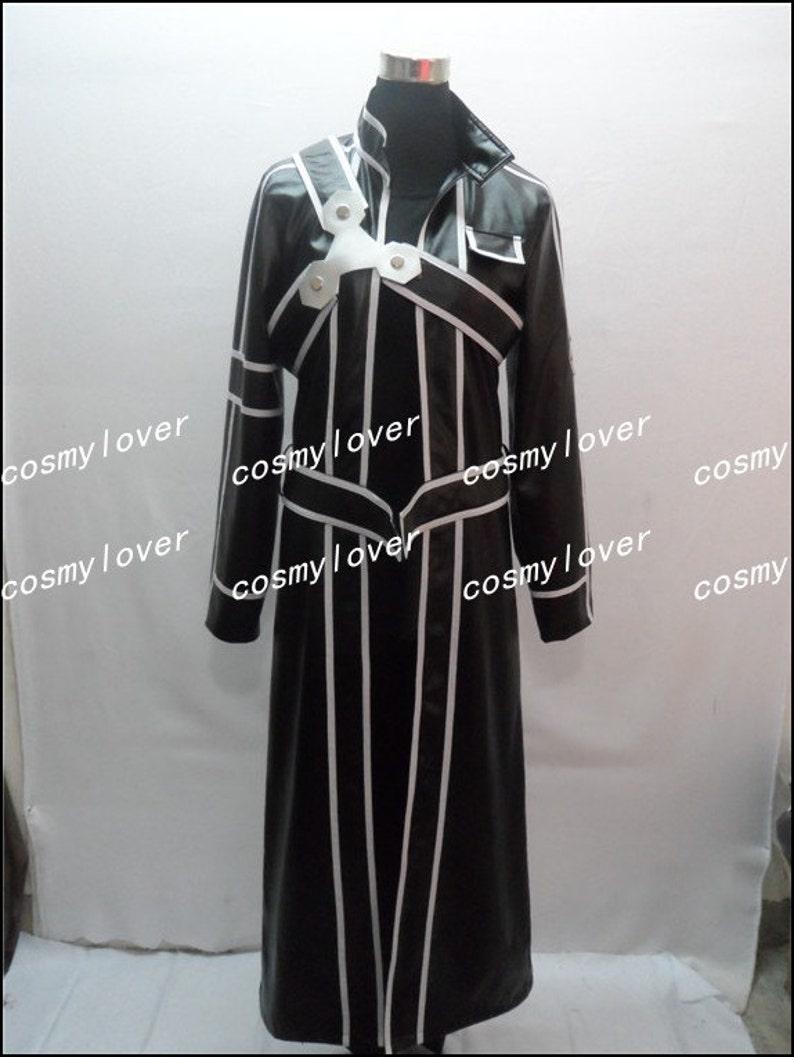 738c84af85501 Sword Art Online Kirito Custom Made Cosplay Costume