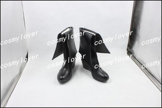Makise Steins Custom Kurisu Made Gate Cosplay chaussures bottes 775gxqrtw