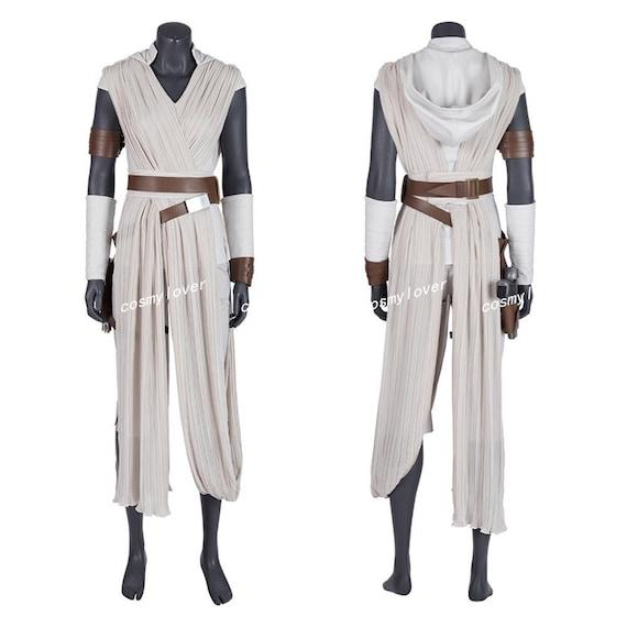 Star Wars Episode VIII The Last Jedi Rey Cosplay Costume Custom Made Full Size