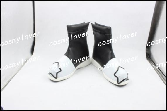 Made Star Custom Boots Black Eater Soul Shoes Cosplay IvRxtwqq