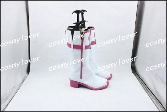 Vocaloid sur mesure IA de chaussures Cosplay III et bottes fait raFrS8
