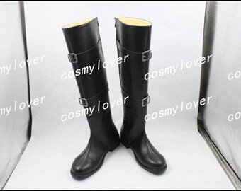 Final Fantasy VII Sephiroth Custom Made Cosplay Boots/Shoes
