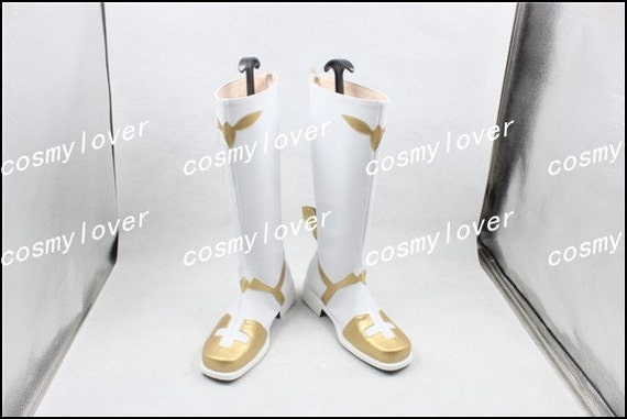Custom Christophe Cosplay chaussures apocryphes bottes Sort Made qEpwRxwg