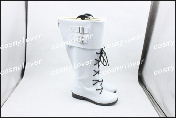Custom chaussures meurtre bottes Made clair Cosplay Dramatique wxqzE7HH