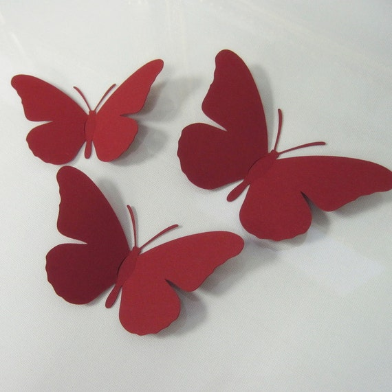 Wall Decoration 3d Beautiful Butterfly Template For Silhouette And Cricut Svg Cut Files