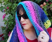 PATTERN Rainbow Eternity Scarf Crochet