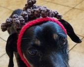 PATTERN Dog Cat Patrick Mahomes inspired Crochet Wig Beanie
