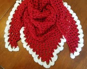 Christmas Lacy Scarf Shawl Wrap