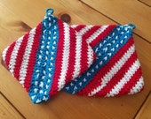 PATTERN Patriotic Dual Thickness Hot Pad
