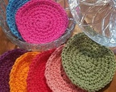 PATTERN Everlasting Face Scrubbies Crochet