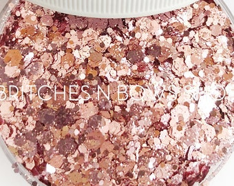 NEW Sealed with a Kiss    High Quality Polyester Glitter, by Weight, MIX