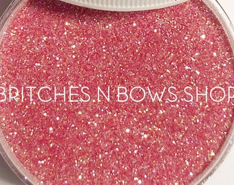 Tickled *|| High Quality Polyester Glitter, 1oz by Weight, TRANSLUCENT