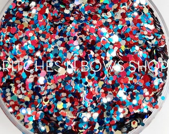 NEW Party in the USA    High Quality Polyester Glitter, by Weight, MIX