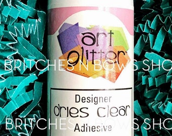 2oz Art Glitter Designer Dries Clear Adhesive