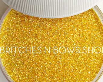 Dandy Lion    Exclusive Premium Polyester Glitter, 1oz by Weight • Semi-OPAQUE •    .008 cut