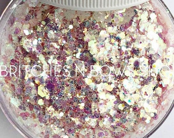 Babycakes    Premium Polyester Glitter, 1oz by Weight • TRANSPARENT •     up to .125 cut