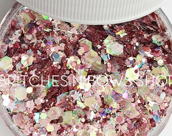 Paparazzi    Premium Polyester Glitter, 1oz by Weight • Semi-OPAQUE •    up to .125