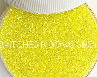 Tweety Pie || Premium Polyester Glitter, 1oz by Weight • TRANSPARENT • || .008 cut